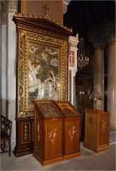 Ikonen in der Mitropolis-Kirche