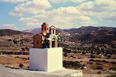 Ikonostasion  III   / Wegkapelle / Griechenland. ...DSC_8836