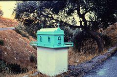 Ikonostasion   VI   / Wegkapelle / Griechenland. .DSC_8832