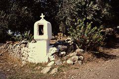 Ikonostasion   VII   / Wegkapelle / Griechenland. .DSC_8833