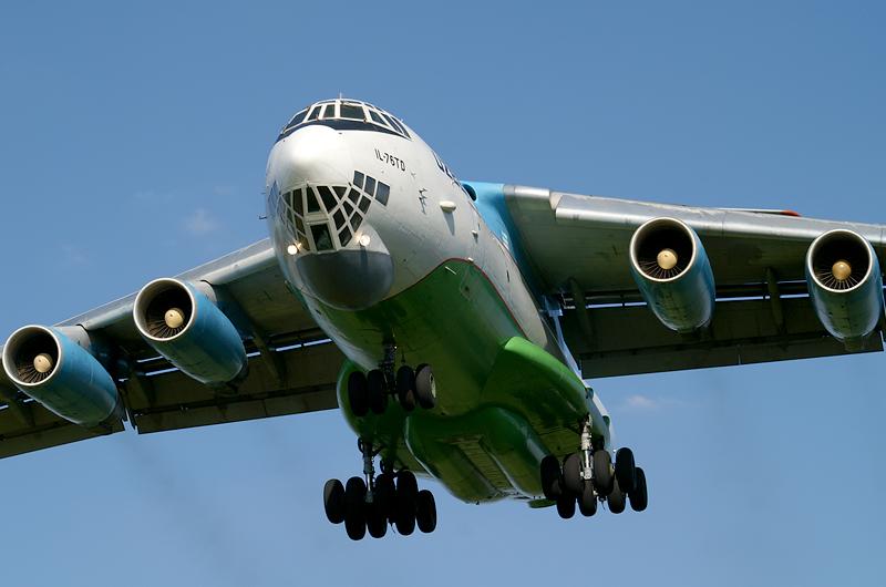 Il-76 Uzbekistan Airways, Brno-Turany (LKTB/BRQ)