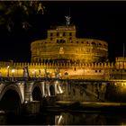 il Castel Sant'Angelo  a  Roma  (Italia)