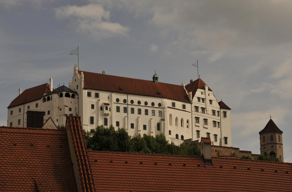 Il castello del Trausnitz - Landshut