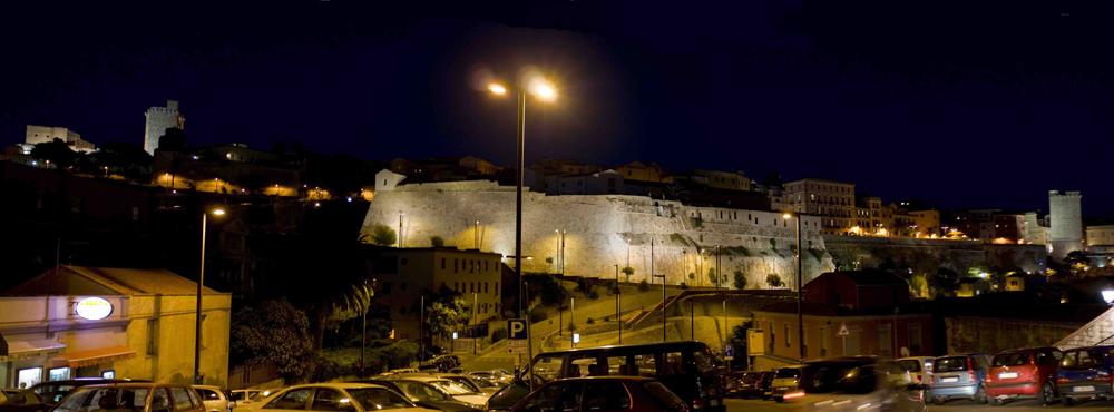 Il castello di Cagliari.
