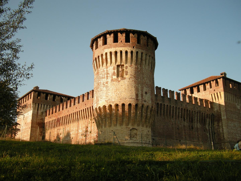 Il castello ( rocca ) di Soncino (CR).