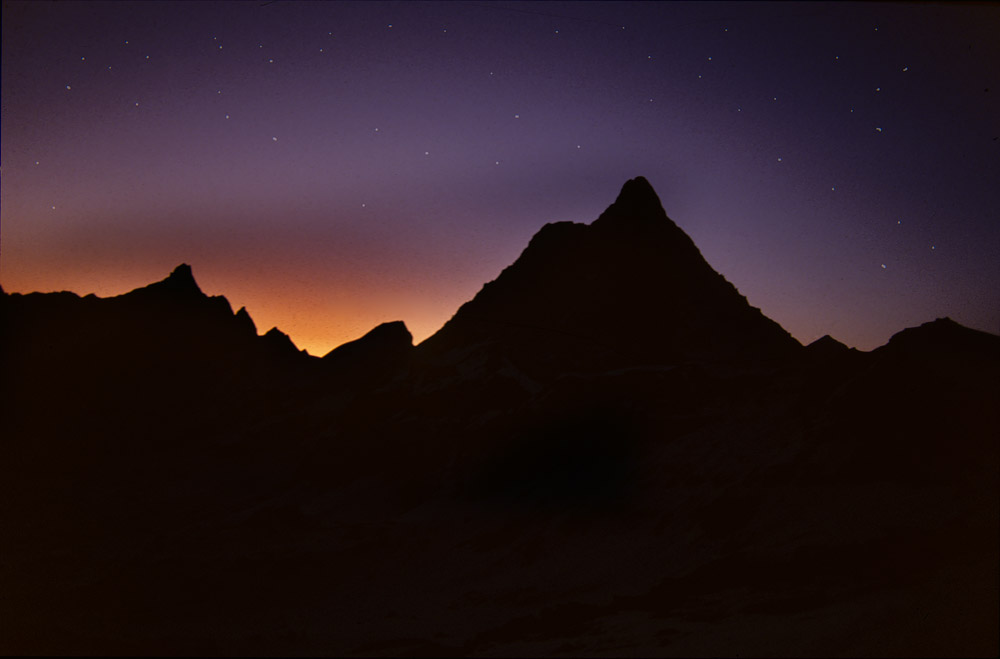 Il Cervino (Matterhorn) by night