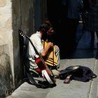 il Chitarrista di strada