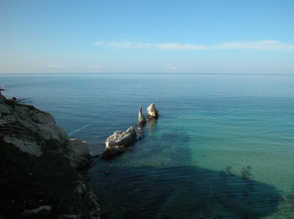 Il cielo alla riserva naturale di Capo Rama - Palermo