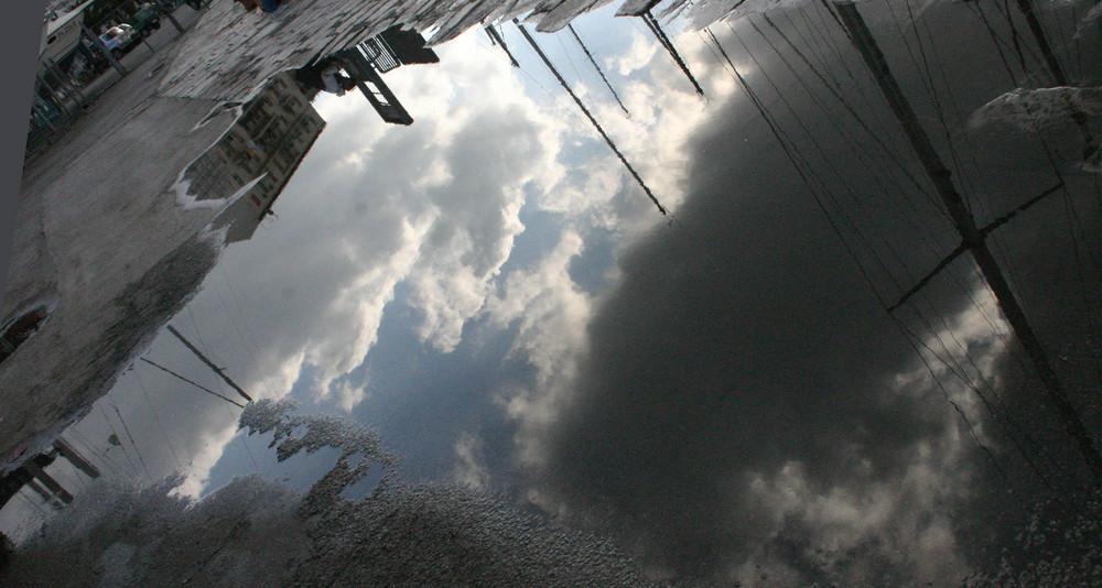 Il cielo in una pozzanghera