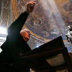 Il direttore del coro parrocchiale