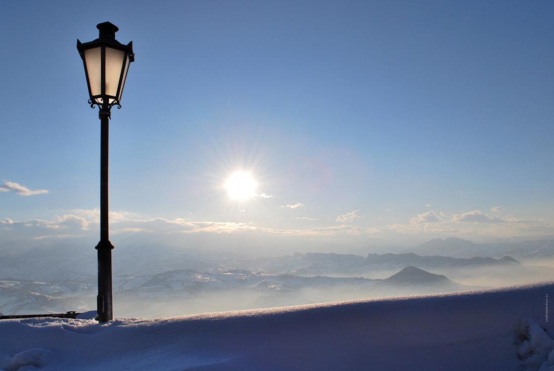 Il fascino dell'inverno.