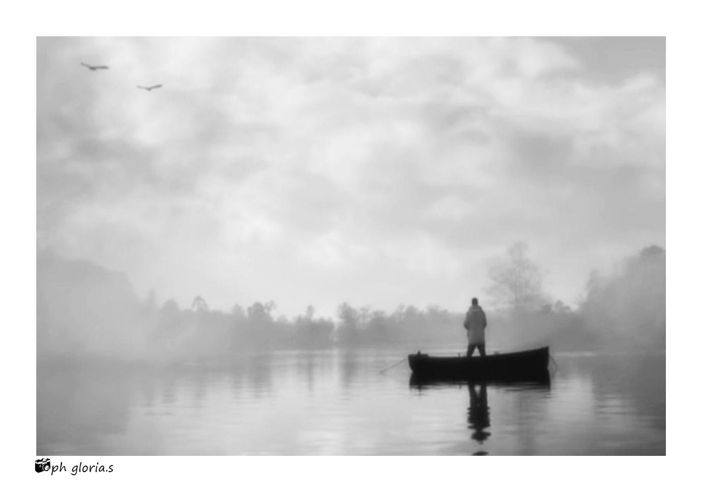 Il fiume e la nebbia...