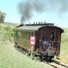 Il frenatore del trenino verde della Sardegna