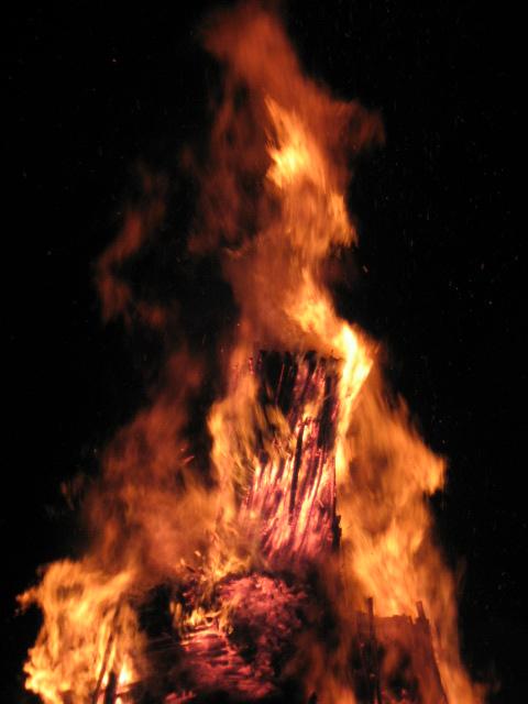 Il fuoco della passione......