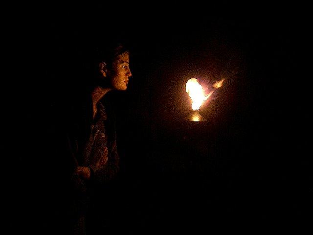Il fuoco......brucia