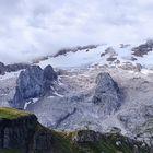 Il ghiacciaio della Marmolada ...