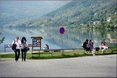 Il lago a Voss.