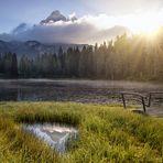 ...il lago d'Antorno...