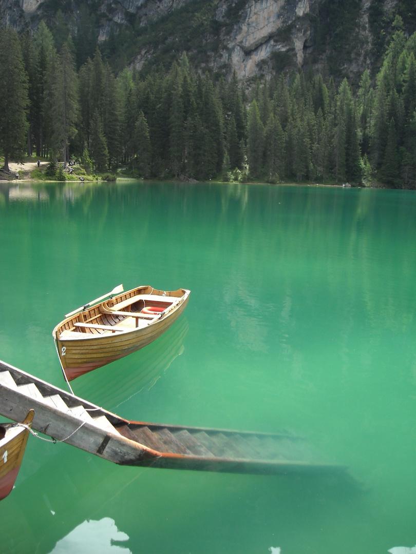 Il lago di Braies in Sud Tirol..spettacolare..