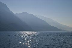 Il lago incantato...