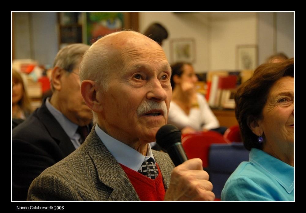 Il maestro Renato Barisani