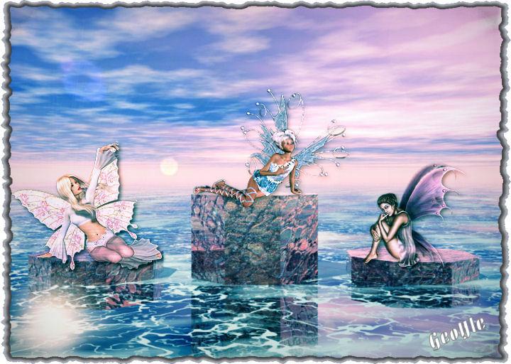 il mare delle fate