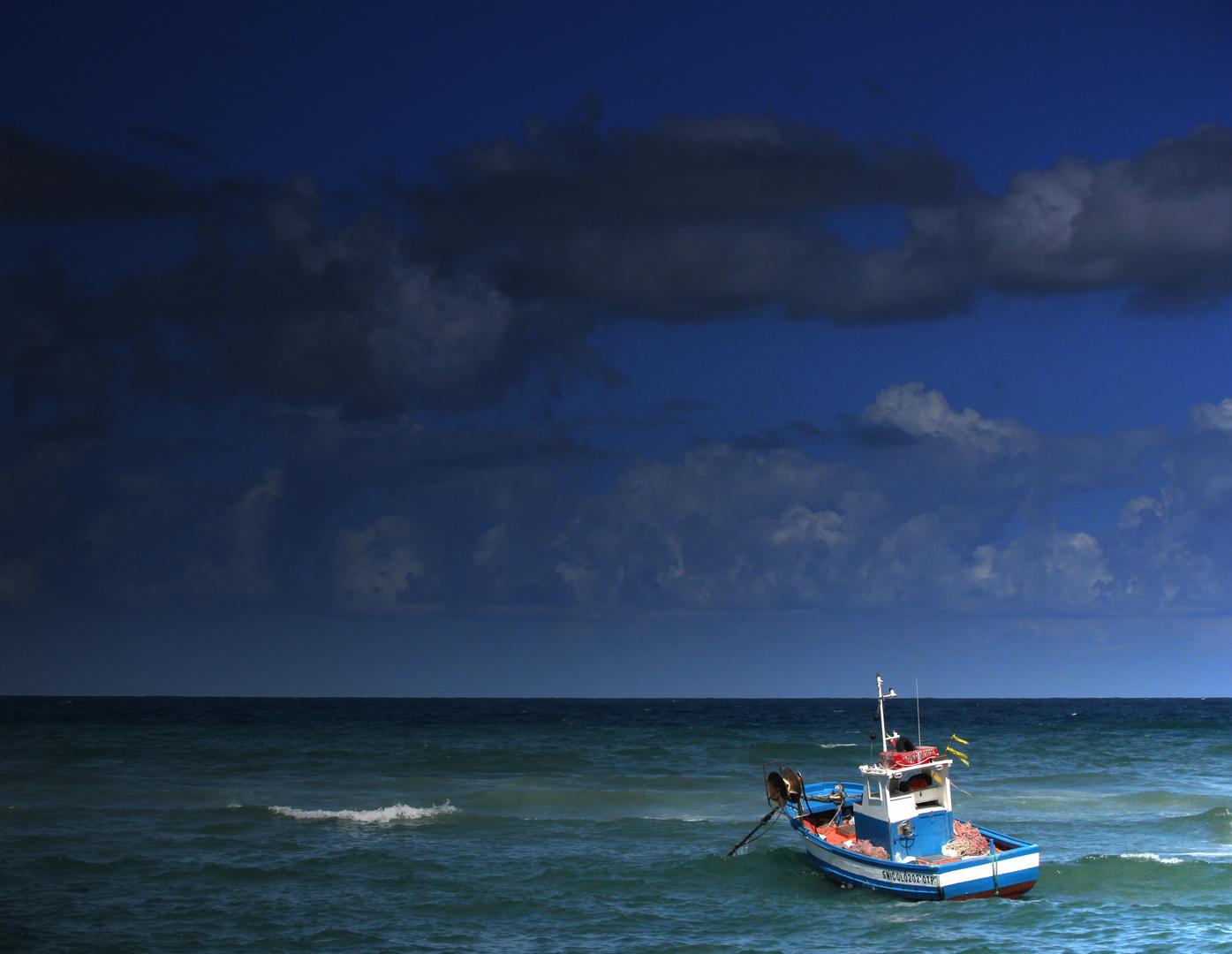 il mare....il cielo....