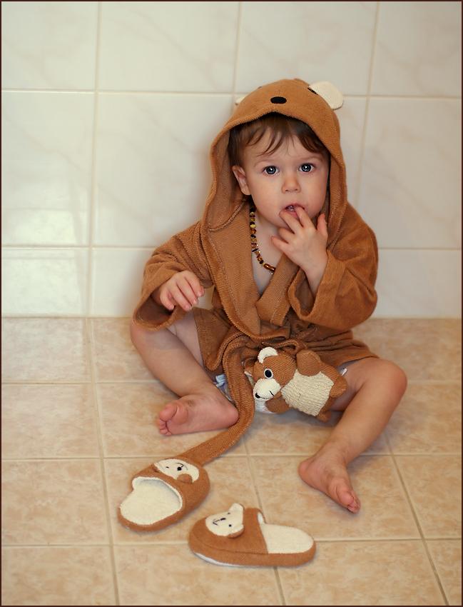 """""""il mio piccolo bagno- orso :-)"""""""