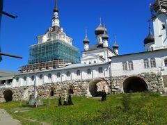 IL monastero delle Solovki....