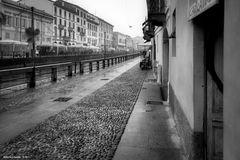 Il naviglio grande di Milano
