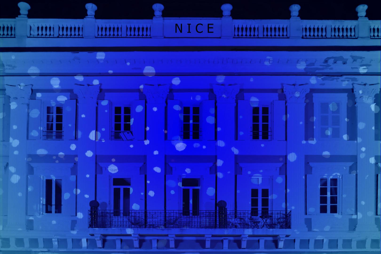 il ne neige jamais à Nice....