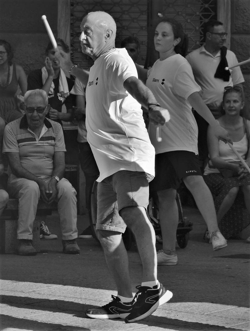 Il nonno si tiene in forma