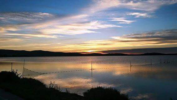 Il nuovo giorno.....laguna di Orbetello.