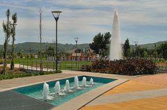 Il nuovo parco della nuova città di Loures.