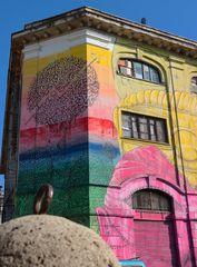Il palazzo dipinto da Blu...