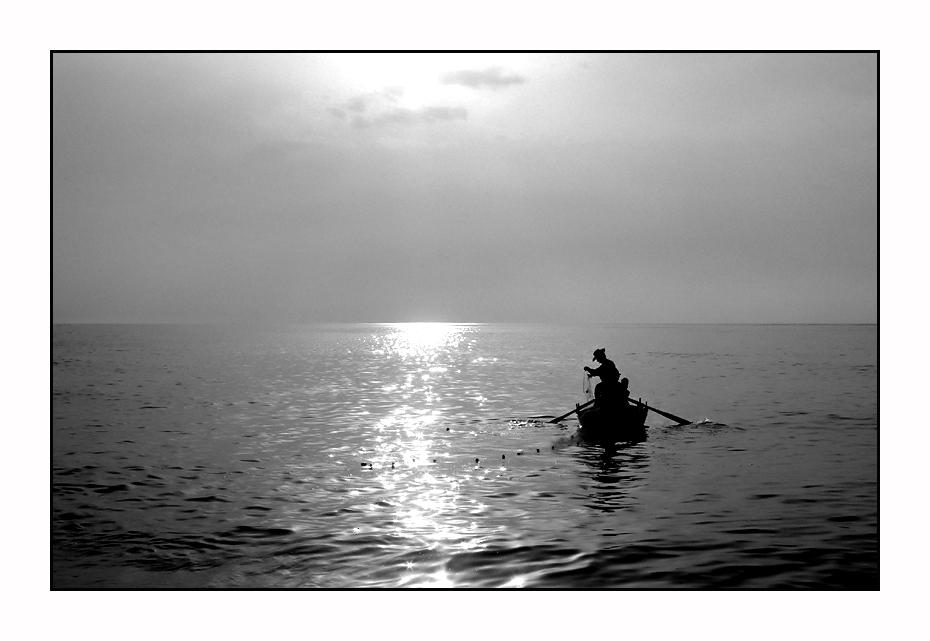 Il Pescatore B/W