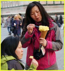 Il piacere di un.....gelatino...con 3 gradi sopra lo zero.....