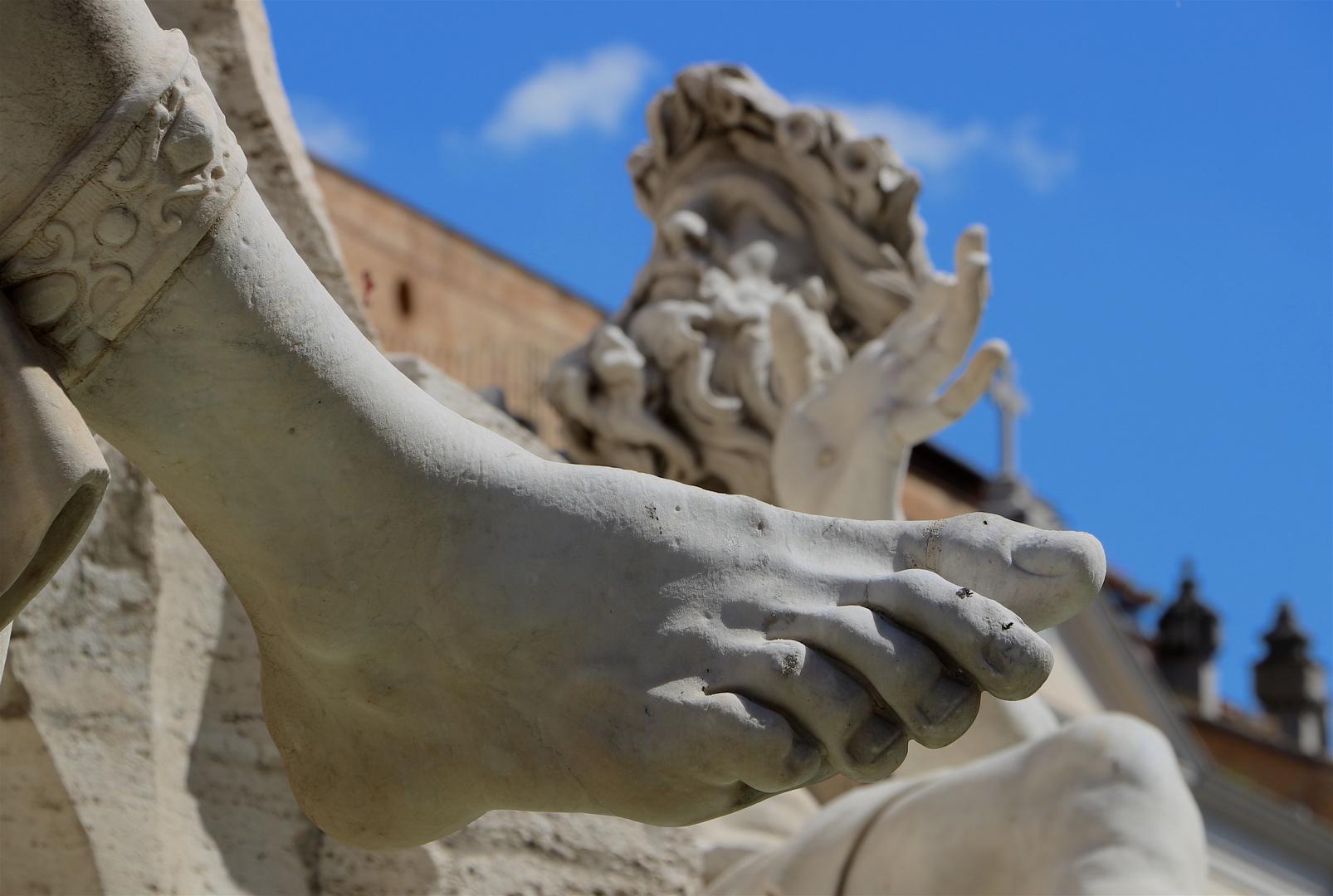 il piede di Bernini...