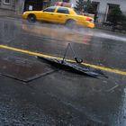 Il pleut des cordes et je n'ai plus de parapluie