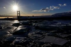 il ponte sul ghiaccio