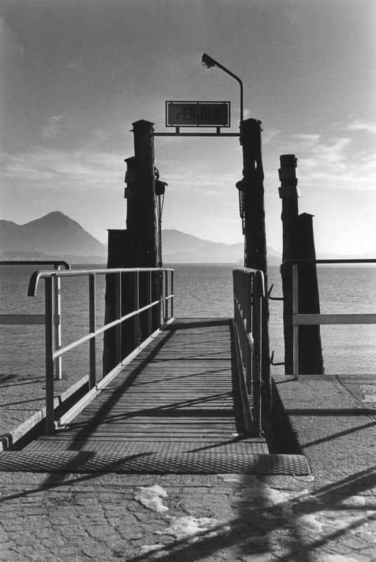 Il pontile di Feriolo