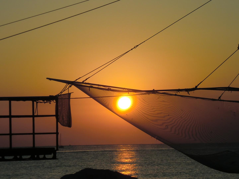 il porto di mattina