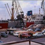 Il porto di Valencia .......... Febbraio 1970.