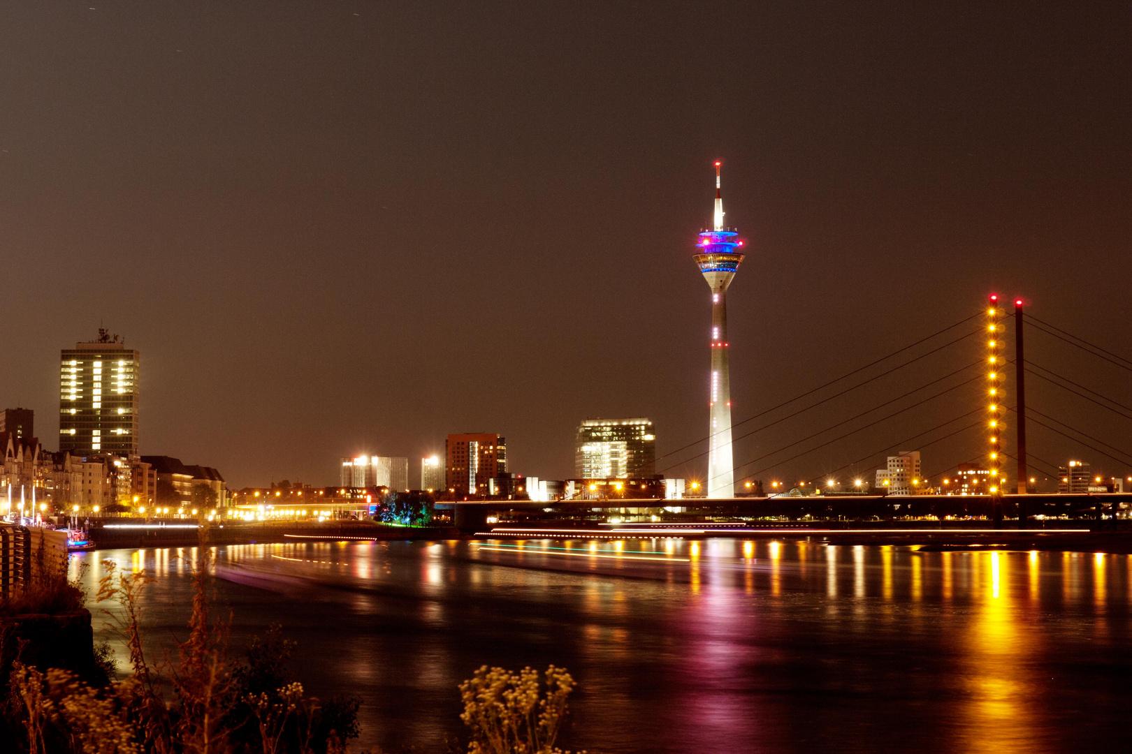 Il Reno a Dusseldorf