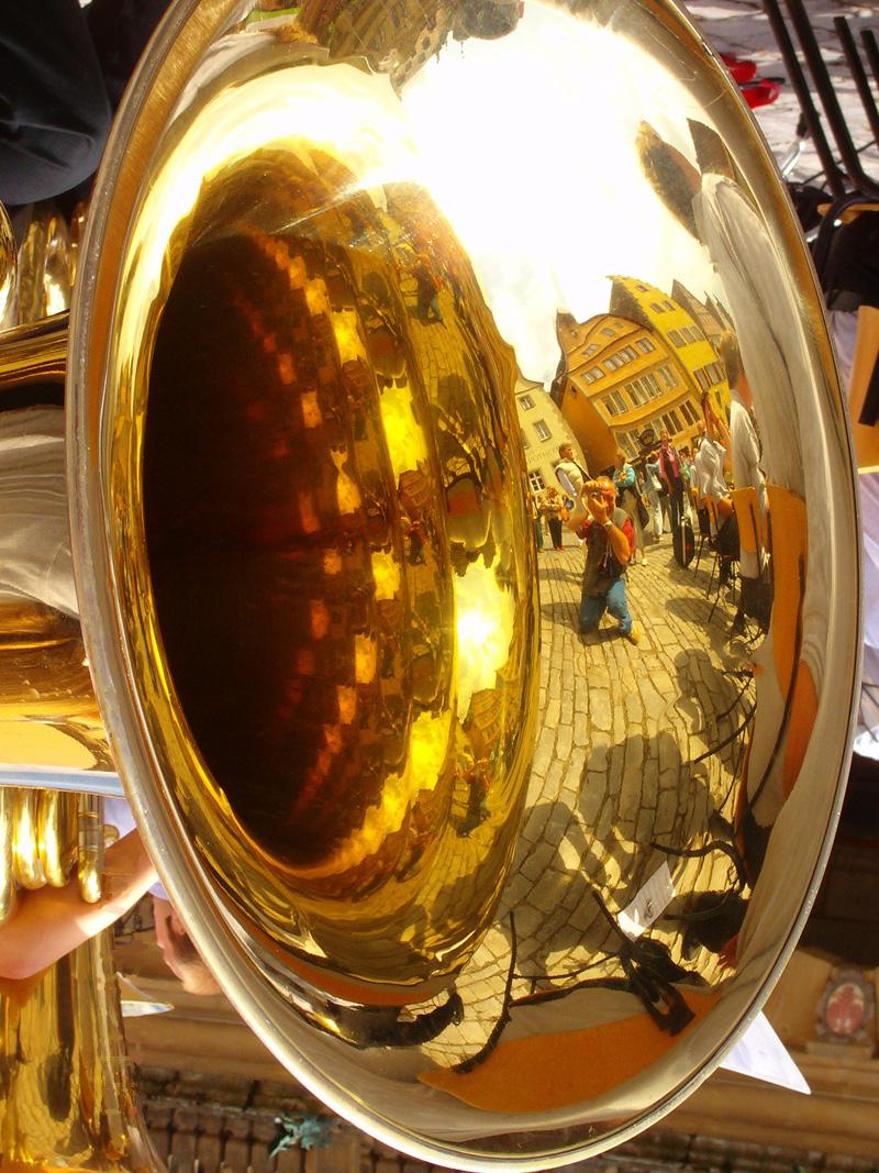 """Il riflesso nel """"trombone"""""""