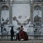 il set. (Villa Borghese - Parco dei Daini. Roma)