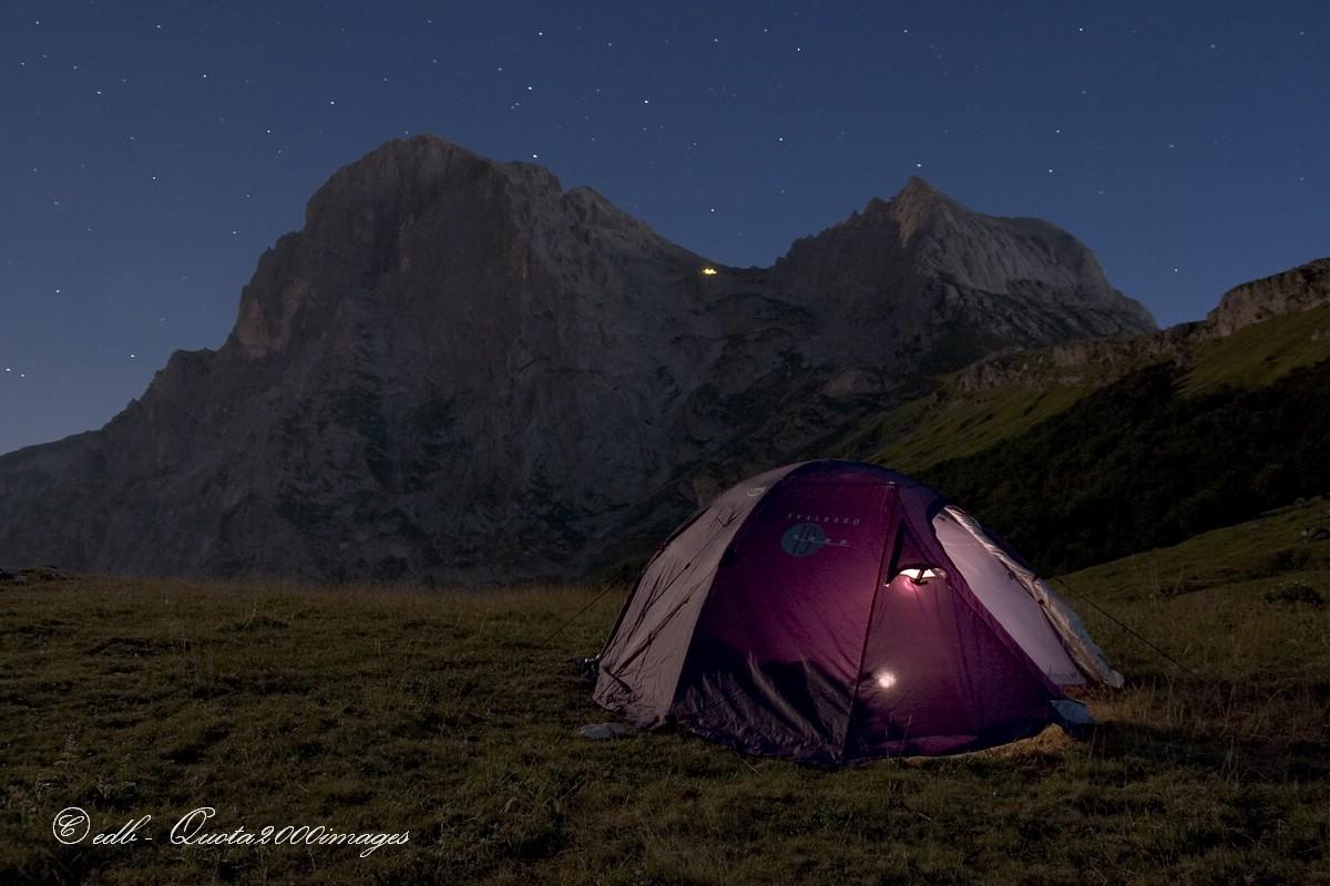 Il silenzio della montagna. Gran Sasso d'Italia - Abruzzo
