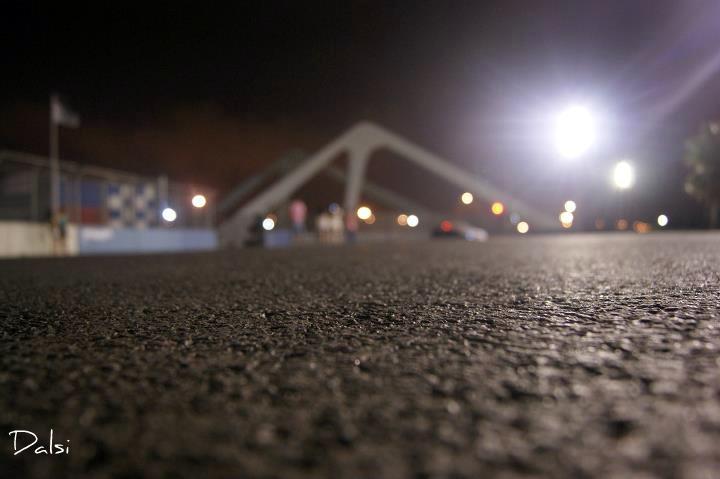 Il silenzo prima del rombo dei motori.. Circuito di Valencia