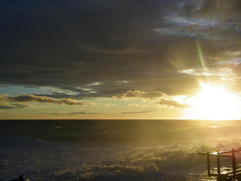 il sole dp la tempesta....