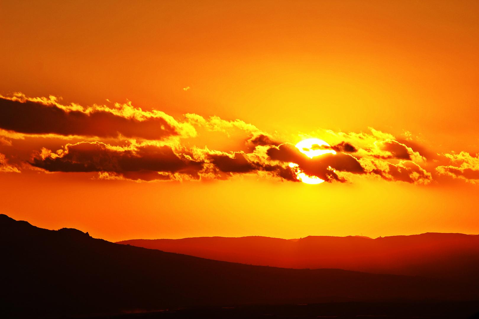 Il sole nascosto tra le nuvole